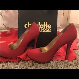 Charlotte Russe red sexy heels 🔥